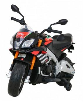Elektrická motorka Aprilia Tuono V4 čierna